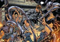 Doctor Octopus escaped from Ryker Island Earth-1610