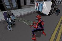 Spider-Man vs Shoker videogame USM