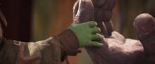 Маленькая Гамора встречает Таноса