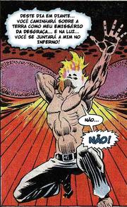 Johnny Blaze Virando Motoqueiro Fantasma