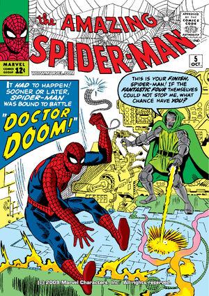 O Espantoso Homem-Aranha Vol 1 5