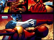 Iron Spider Vs Capitan America