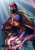 Magneto amalgam card