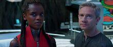 Шури и агент Росс узнают о Киллмонгере - Черная пантера