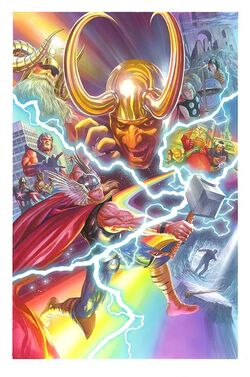Thor Vol 4 1 Ross Variant Textless
