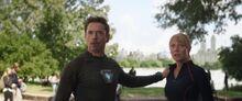 Старк и Пеппер встречают Стрэнджа - Война бесконечности