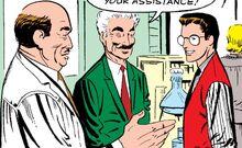 Питер Паркер (616) знакомится с профессором Коббвеллом (616) из ASM v1 2