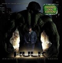 The Incredible Hulk- Original Motion Picture Score