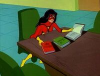 Spider-Woman is studied literature Earth-700459