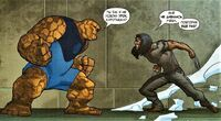 Thing vs Wolverine Earth-1610