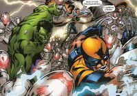 Marvel Adventures- The Avengers 1 Storm, Wolverine and Hulk vs Ultron