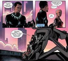 Знакомство Т'Чаллы и Окойе - Black Panther Prelude