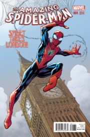 Amazing Spider-Man Vol 4 1 Variante de Bagley