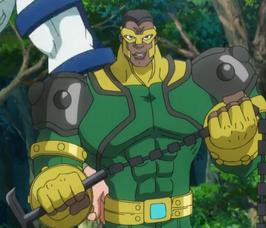 Eliot Franklin (Thunderball) (Tierra-14042) de Marvel Disk Wars The Avengers Temporada 1 45 001
