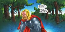 Тор борется со своими страхами - Thor, The Mighty Avenger