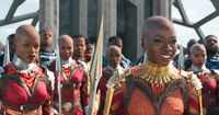 Okoye is rejosing at the T'Challa's return