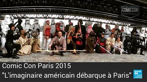 """Comic Con Paris """"On veut voir plus grand pour la 2e édition en 2016"""""""