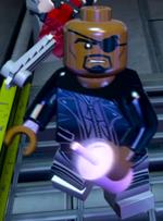 Nicholas Fury (Earth-13122) from LEGO Marvel's Avengers 001