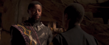Т Чака обсуждает будущее с Т Чаллой - Черная пантера, удаленная сцена