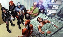 Tony Stark herido