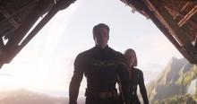 Стив на планете Таноса