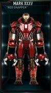 Armure d'Iron Man MK XXXV (Terre-199999)