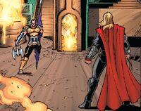 Thor vs Imir Earth-199999