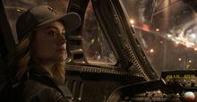 Верс, побег с базы Пегас - Капитан Марвел