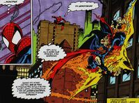 Spider-Man meets Demogoblin again