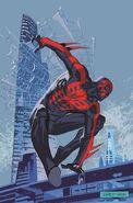 Spider-Man 2099 Vol 2 1 Leonardi Variant Textless