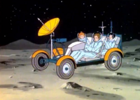 Moon rover Earth-700459