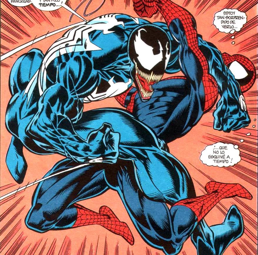Resultado de imagen para venom vs spiderman comic