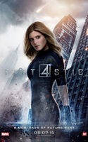 Fantastic Four 2015 poster Invisible Woman