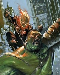Motoqueiro Fantasma e Hulk