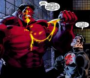 Red Hulk (Thaddeus Ross) y Punisher (Frank Castle)