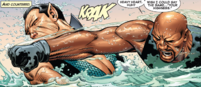 Namor McKenzie (Earth-616) vs Luke Cage (Earth-616) from Avengers vs. X-Men Vol 1 2 0001