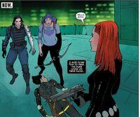 Tales of Suspense 103 Hawkeye, Winter Soldier and Black Widow