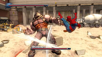 Spider-Man- Shattered Dimensions boss battle
