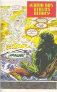 Thaddeus Ross(En el Cuerpo de Zzzax) vs Hulk Verde (Richard Jones)