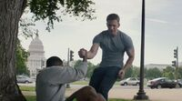 Captain America The Winter Soldier Steve Rogers Meets Sam Wilson