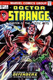 Dr stranger defenders comic