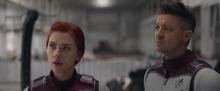 Наташа и Клинт готовятся к миссии - Финал