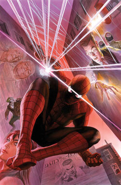 Amazing Spider-Man Vol 3 1 Ross Variant Textless