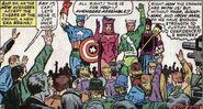 Steve Rogers (Earth-616) Cap's Kooky Quartet from Avengers Vol 1 16
