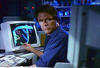 David Banner at the computer Earth-400005