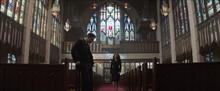 Наташа и Стив на похоронах Пегги Картер - Противостояние