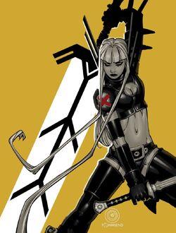Illyana Rasputina (Earth-616) Uncanny X-Men vol 3 4 cover