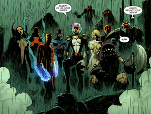 Thunderbolts and Beta Team (Earth-616) from Thunderbolts Vol 1 158 pg 20