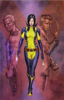 All-New Wolverine Vol 1 3 Variante Sin Texto