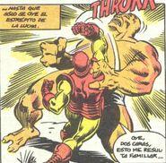 Anthony Stark (Tierra-616) vs Bi-Bestia (Tierra-616)